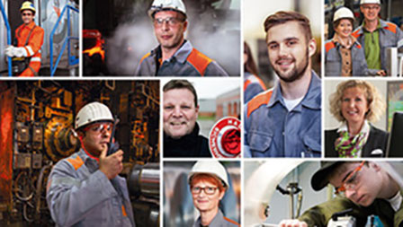 Image of employees of Salzgitter AG
